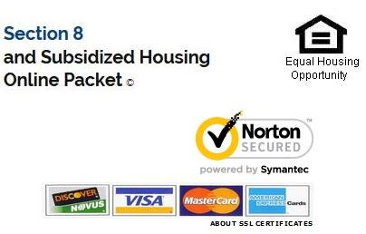 Apply for Section 8 housing online.